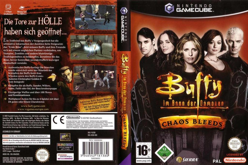 Buffy im Bann der Dämonen: Chaos Bleeds Wii coverfullHQ (GCQD7D)