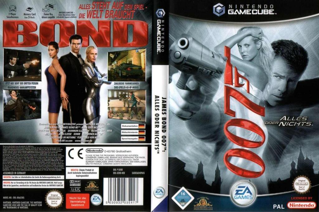 James Bond 007: Alles Oder Nichts Wii coverfullHQ (GEND69)