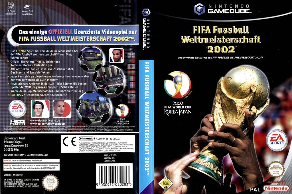 FIFA Fussball Weltmeisterschaft 2002 Wii coverfullHQ (GFSD69)