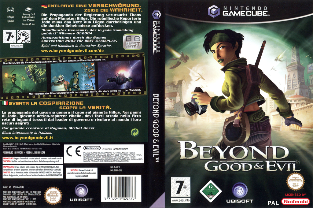 Beyond Good And Evil Wii coverfullHQ (GGEX41)