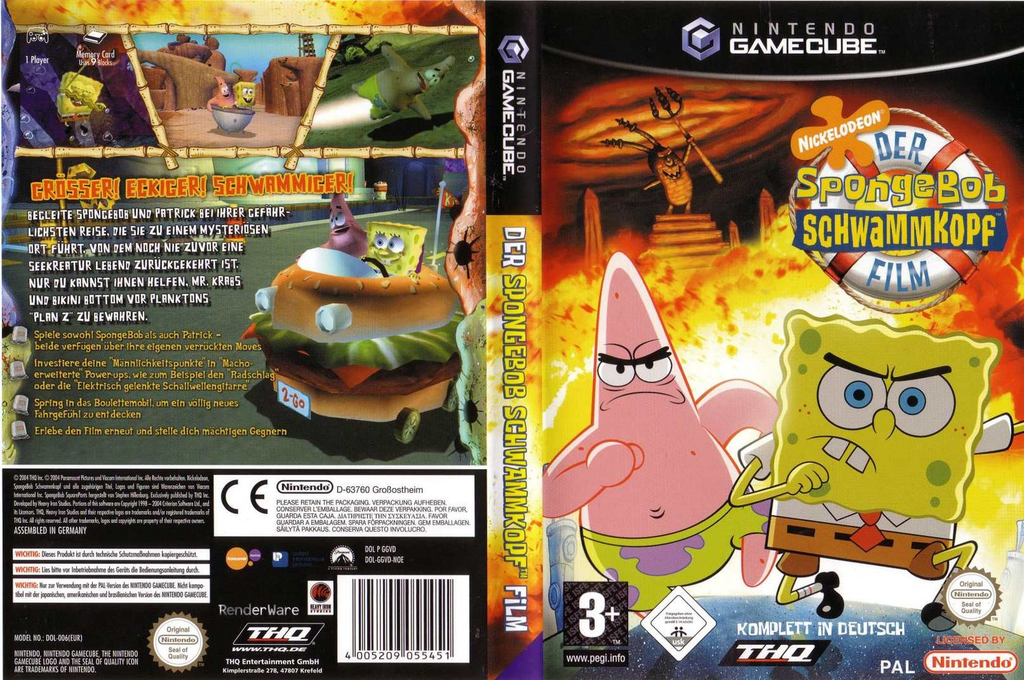 Der SpongBob Schwammkopf Film Wii coverfullHQ (GGVD78)