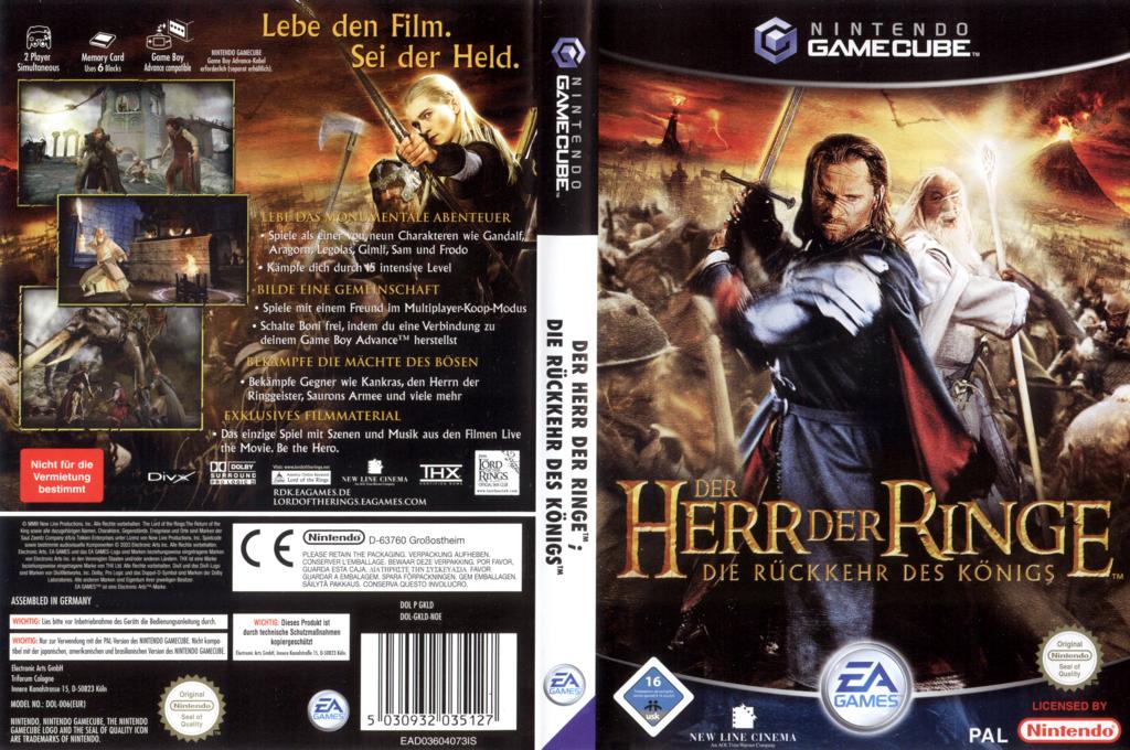 Der Herr der Ringe: Die Rückkehr des Königs Wii coverfullHQ (GKLD69)