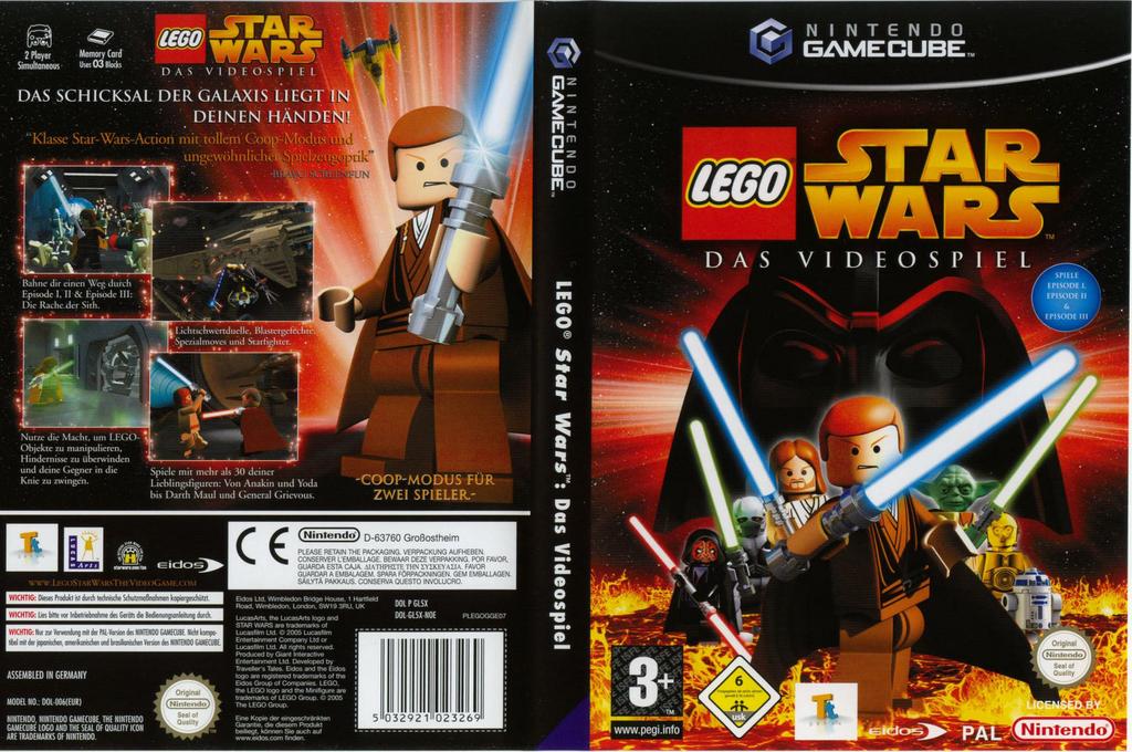 Lego Star Wars:Das Videospiel Wii coverfullHQ (GL5X4F)