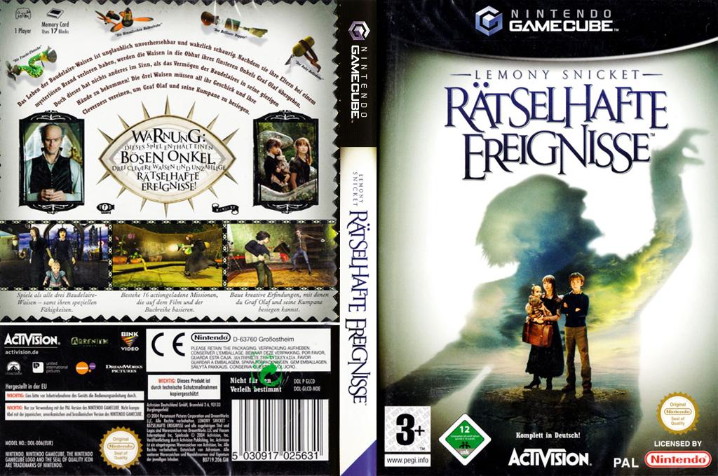 Lemony Snicket: Rätselhafte Ereignisse Wii coverfullHQ (GLCD52)