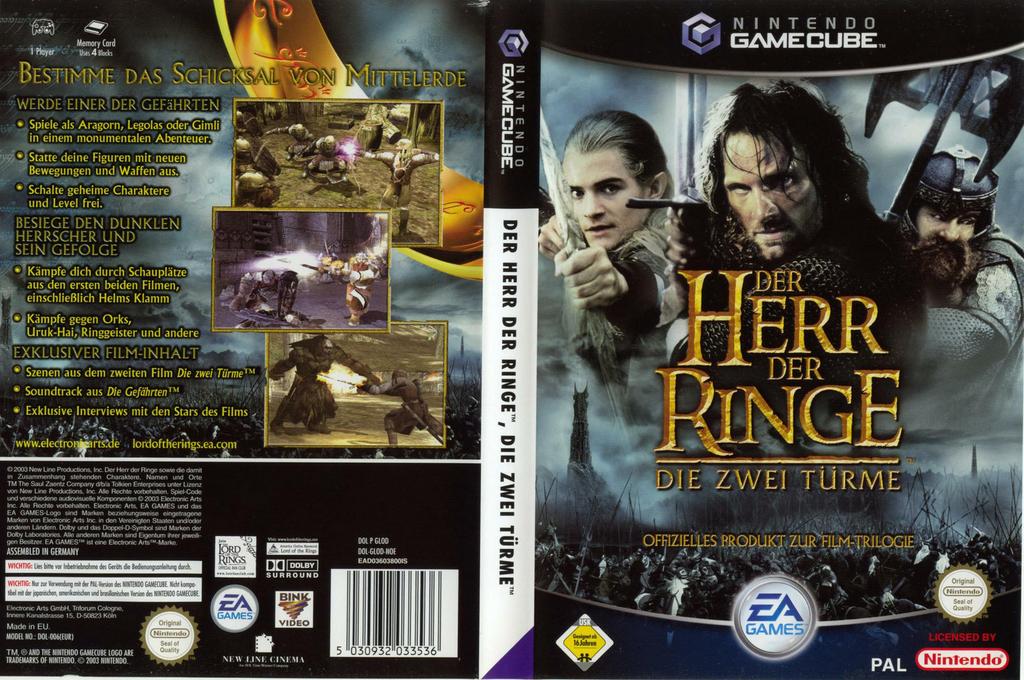 Der Herr Der Ringe:Die Zwei Türme Wii coverfullHQ (GLOD69)