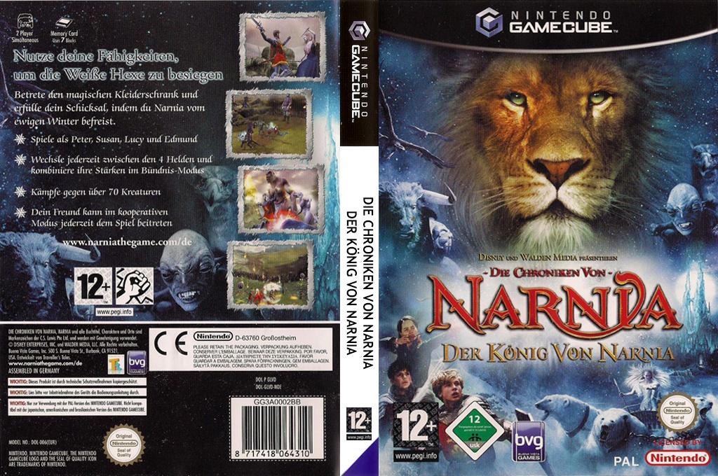 Die Chroniken von Narnia: Der König von Narnia Wii coverfullHQ (GLVD4Q)