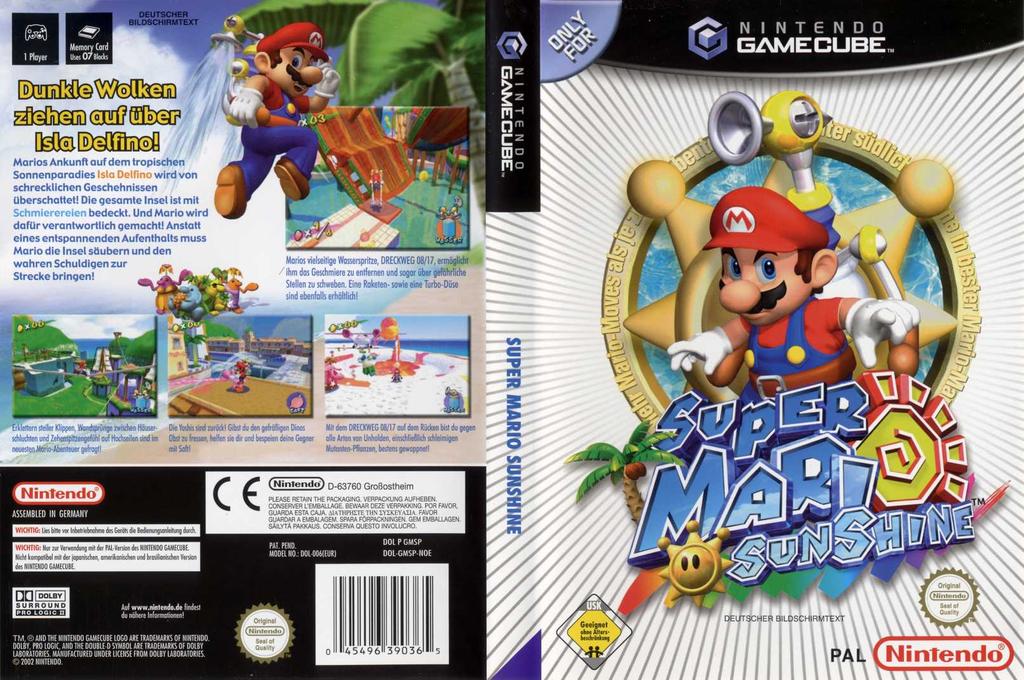 Super Mario Sunshine Wii coverfullHQ (GMSP01)