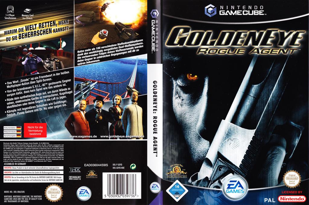 GoldenEye:Rogue Agent Wii coverfullHQ (GOYD69)