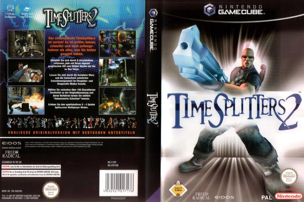 TimeSplitters 2 Wii coverfullHQ (GTSP4F)