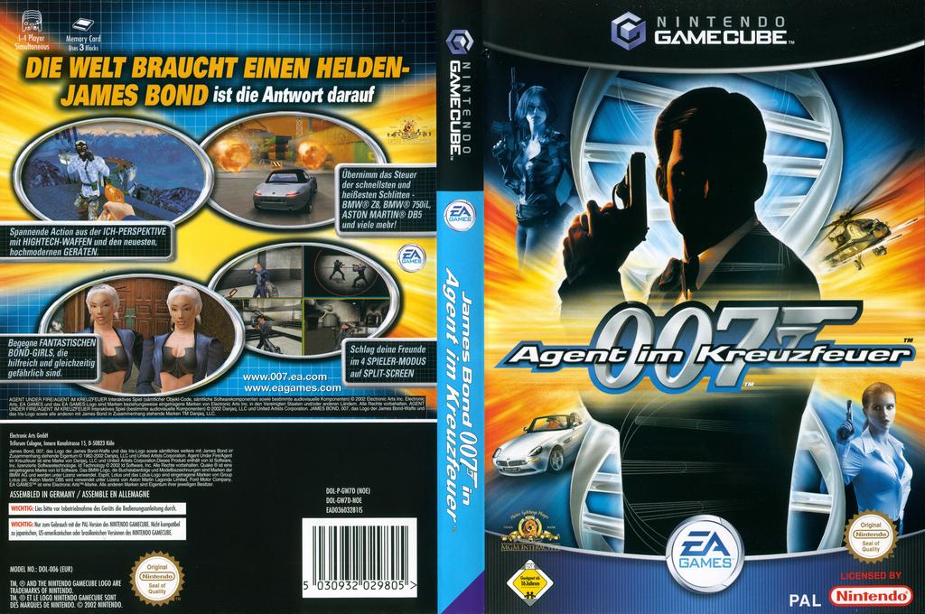 James Bond 007 Agent im Kreuzfeuer Wii coverfullHQ (GW7D69)