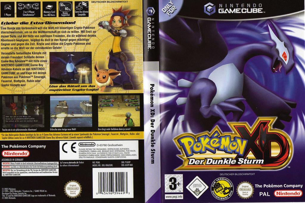 Pokémon XD: Der Dunkle Sturm Wii coverfullHQ (GXXP01)