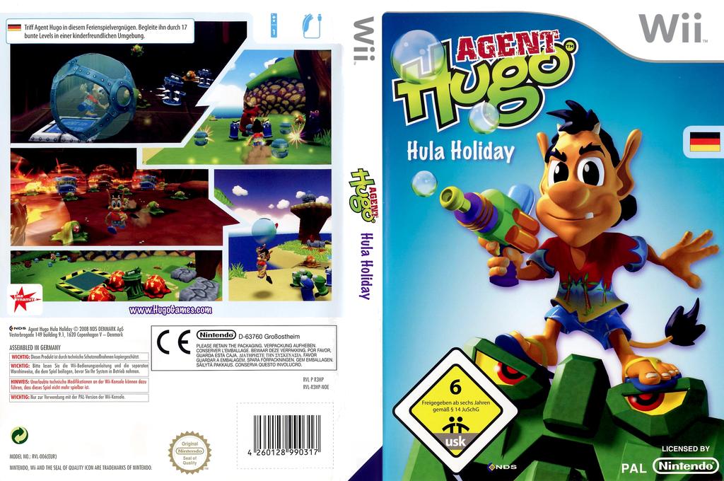 Agent Hugo: Hula Holiday Wii coverfullHQ (R3HP6Z)