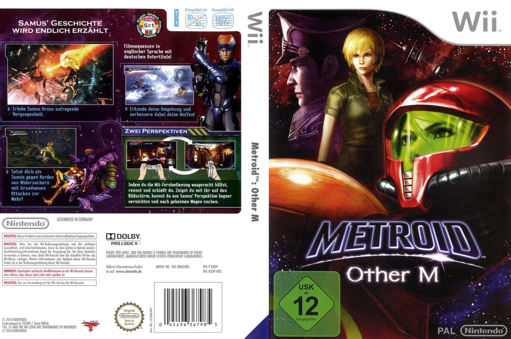 Metroid: Other M Array coverfullHQ (R3OP01)