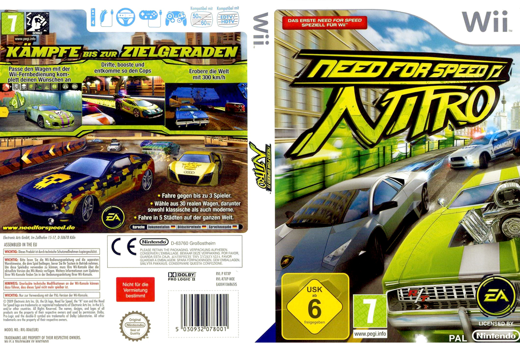 Need for Speed: Nitro Wii coverfullHQ (R7XP69)