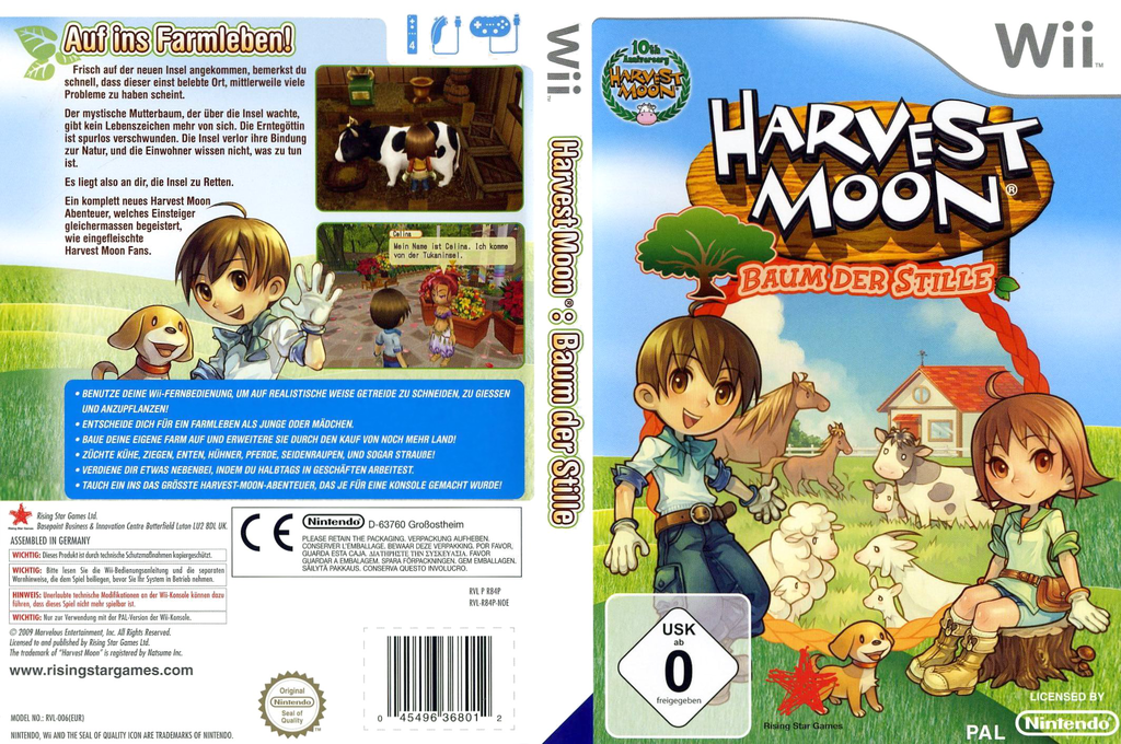Harvest Moon: Baum der Stille Wii coverfullHQ (R84P99)