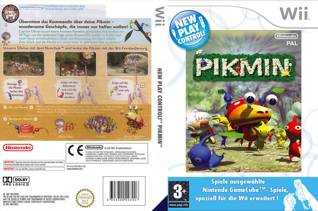 Pikmin Wii coverfullHQ (R9IP01)