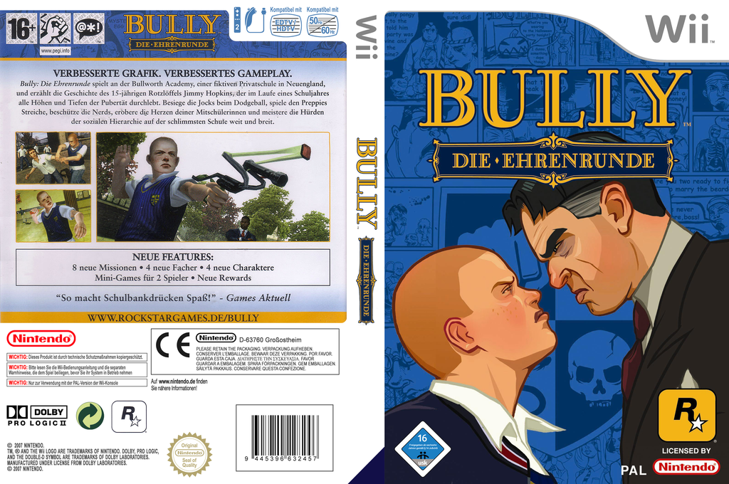Bully: Die Ehrenrunde Array coverfullHQ (RB7P54)