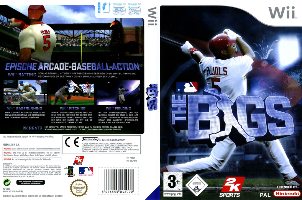 The Bigs - Baseball Wii coverfullHQ (RBGP54)