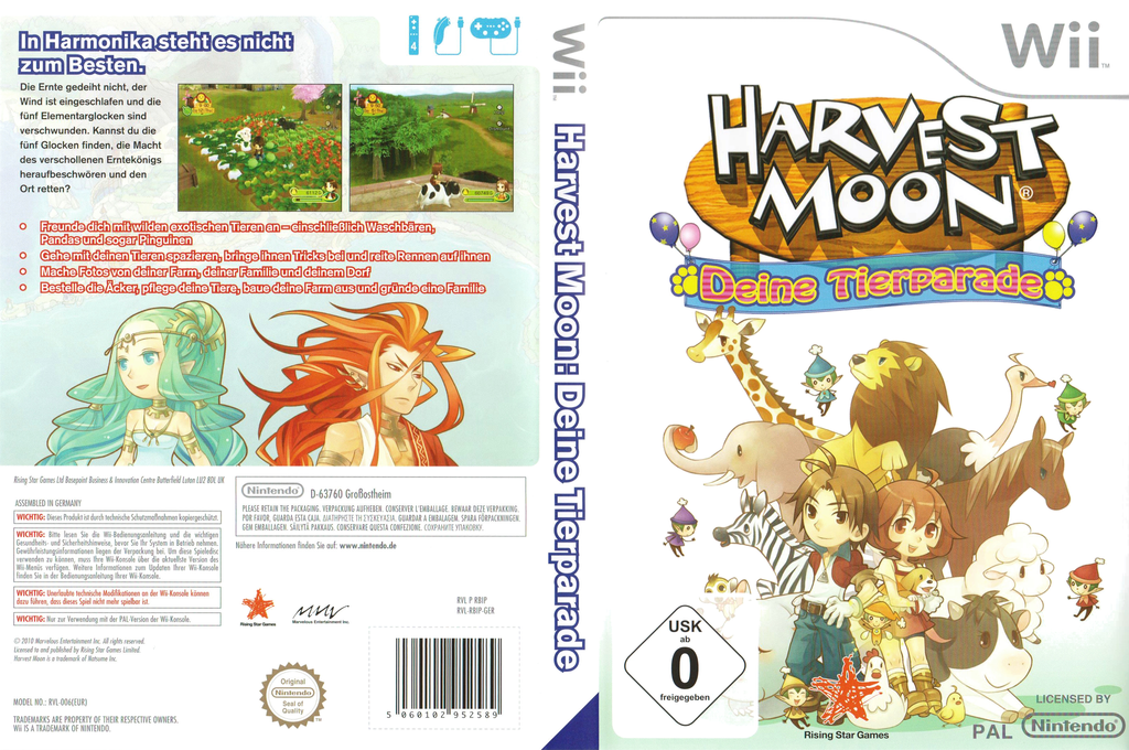 Harvest Moon: Deine Tierparade Wii coverfullHQ (RBIP99)