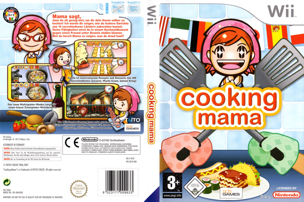 Cooking Mama 1 Wii coverfullHQ (RCCPGT)