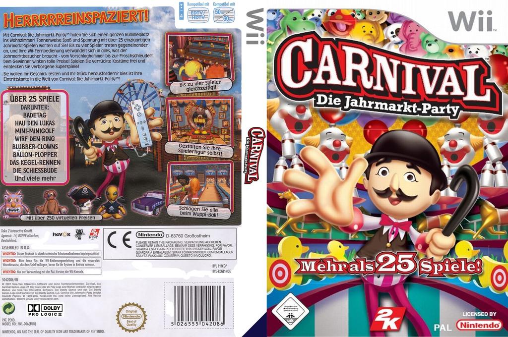 Carnival - Die Jahrmarkt-Party Wii coverfullHQ (RCGP54)
