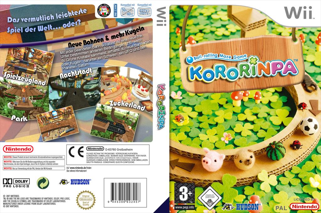 Kororinpa Wii coverfullHQ (RCPP18)