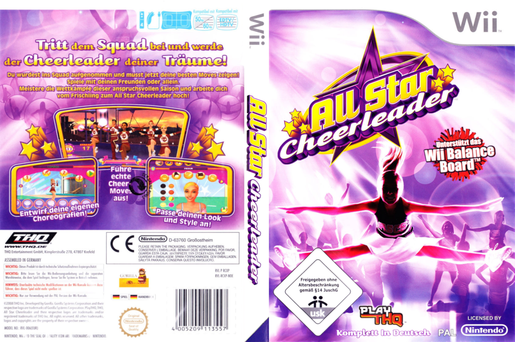 All Star Cheerleader Wii coverfullHQ (RCXP78)
