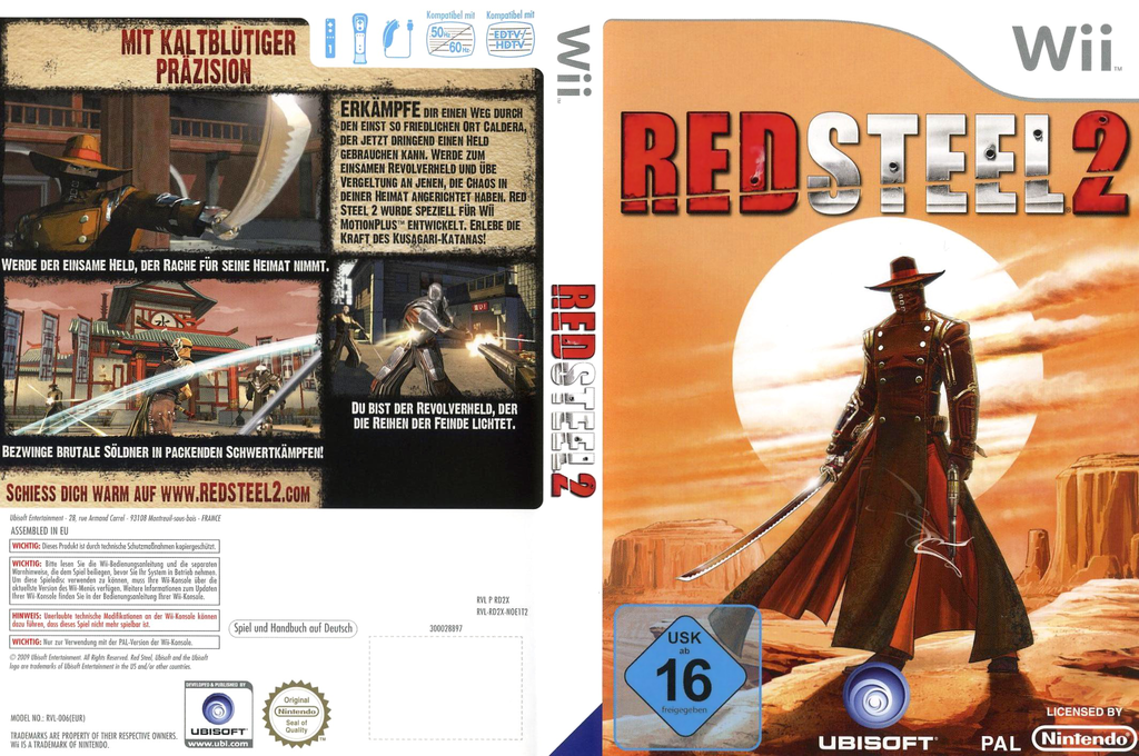 Red Steel 2 Wii coverfullHQ (RD2P41)