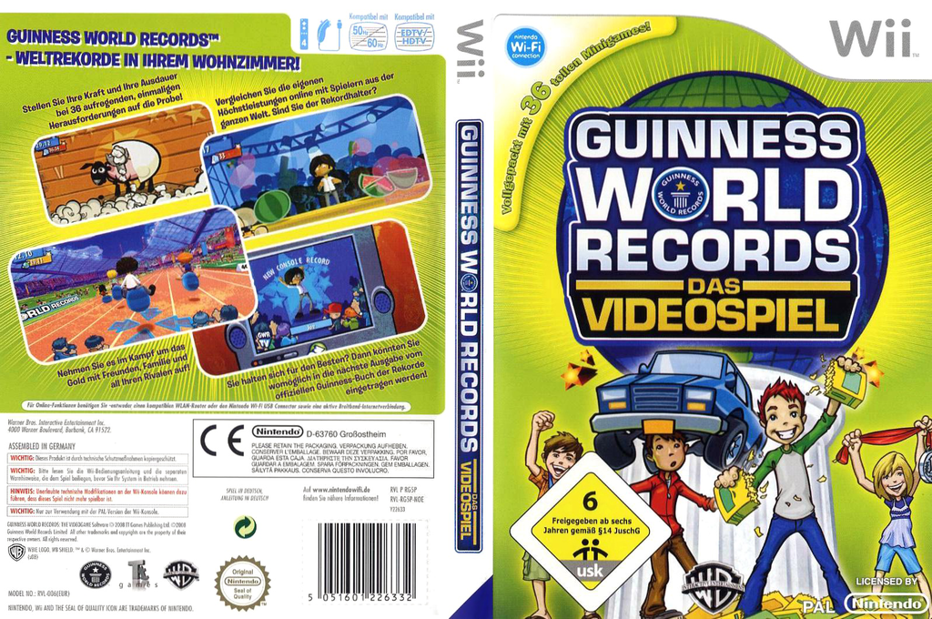 Guinness World Records: Das Videospiel Wii coverfullHQ (RG5PWR)