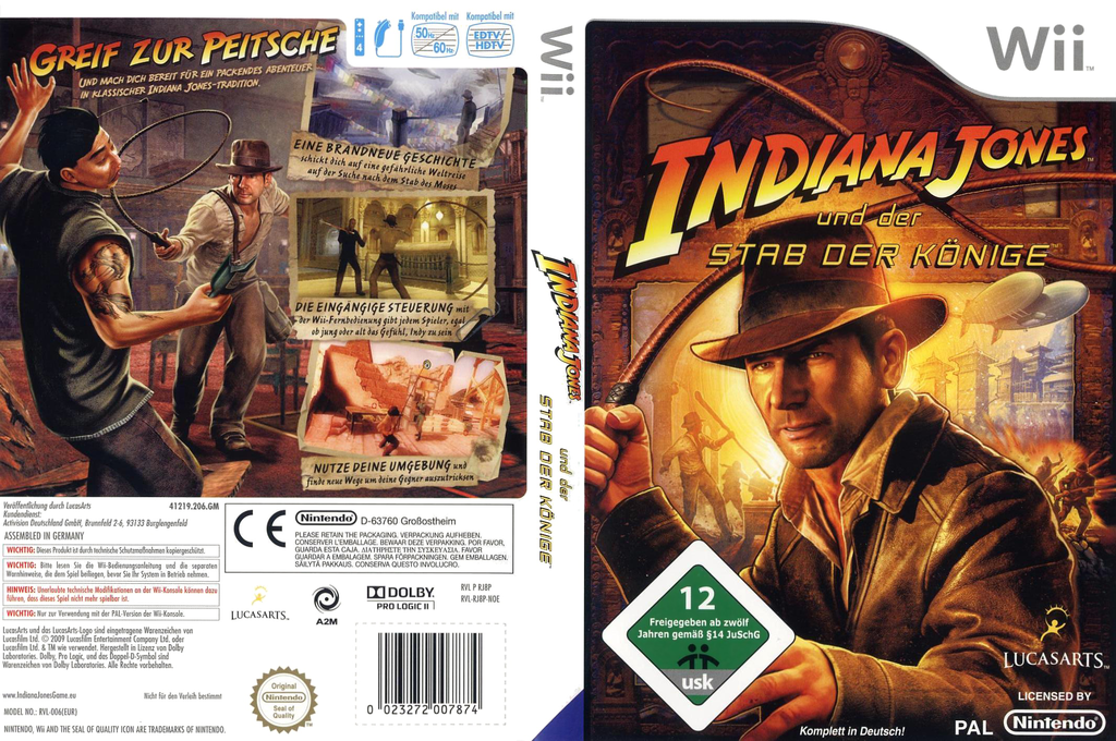 Indiana Jones und der Stab der Könige Wii coverfullHQ (RJ8P64)