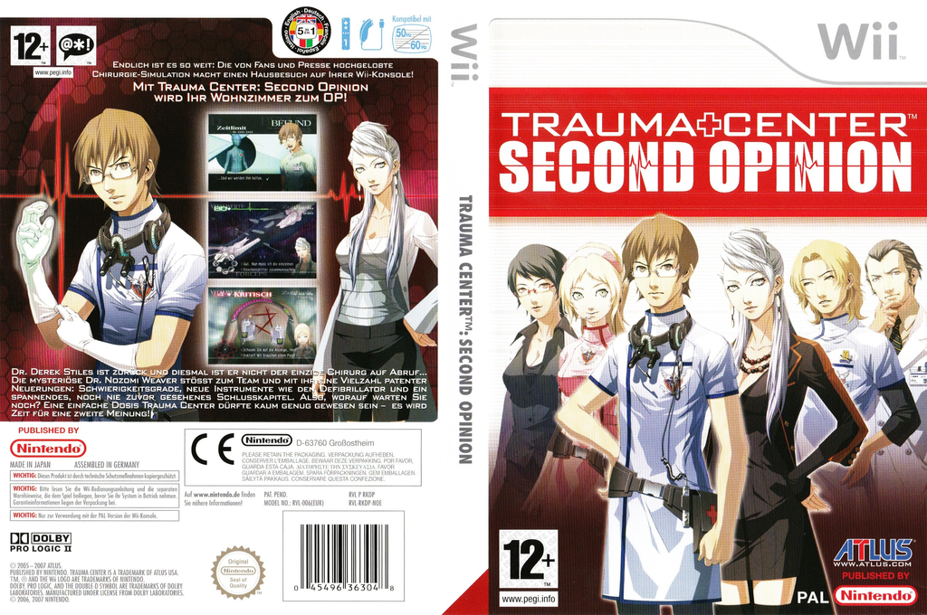 Trauma Center: Second Opinion Array coverfullHQ (RKDP01)
