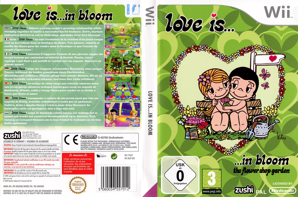 Love is... in bloom Wii coverfullHQ (RLCP7J)