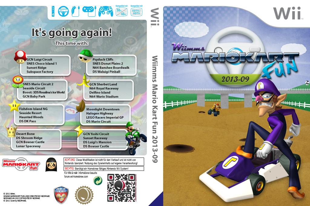 Wiimms MKW Fun 2013-09.pal Wii coverfullHQ (RMCP21)