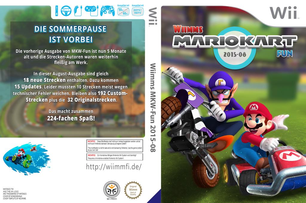 how to get mario kart custom tracks on a wii