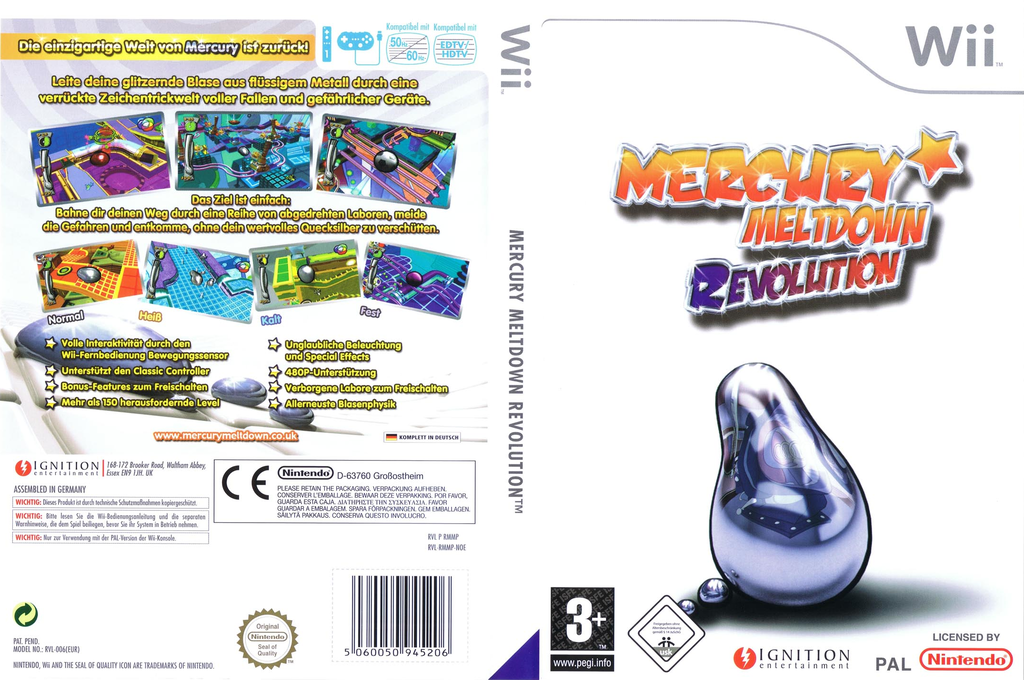Mercury Meltdown Revolution Wii coverfullHQ (RMMP7U)