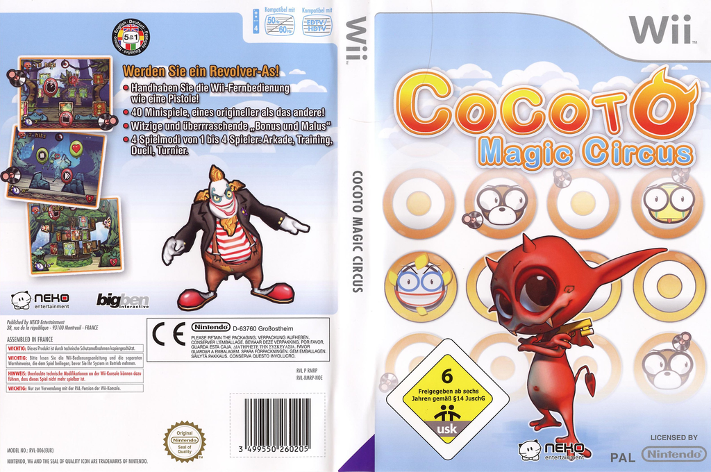 Cocoto Magic Circus Wii coverfullHQ (RMRPNK)