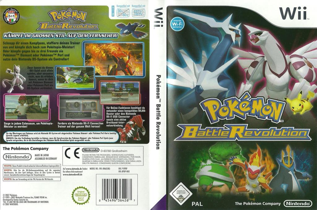 Pokémon Battle Revolution Wii coverfullHQ (RPBP01)