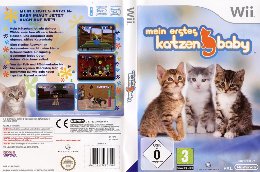 Mein erstes Katzenbaby Wii coverfullHQ (RPVPKM)