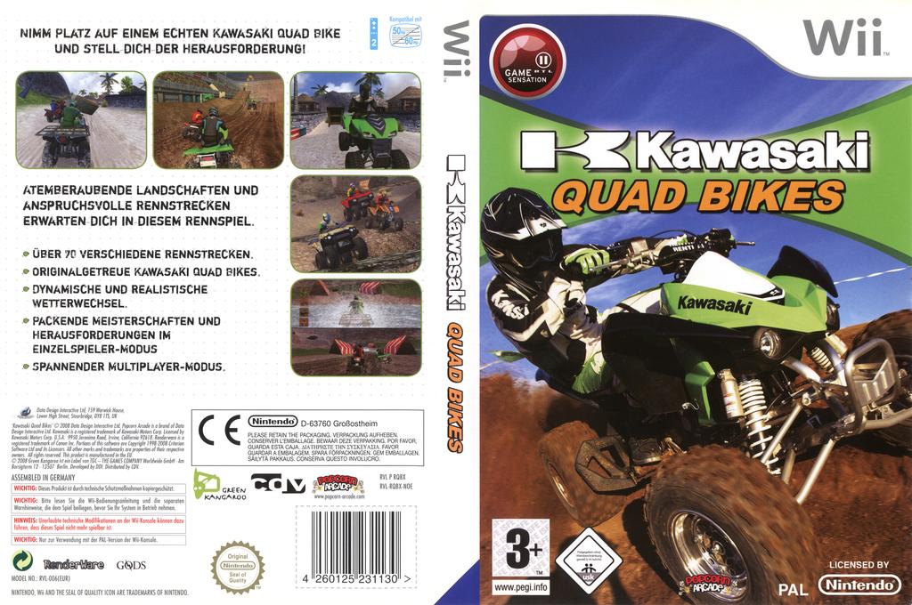 Kawasaki Quad Bikes Wii coverfullHQ (RQBXUG)