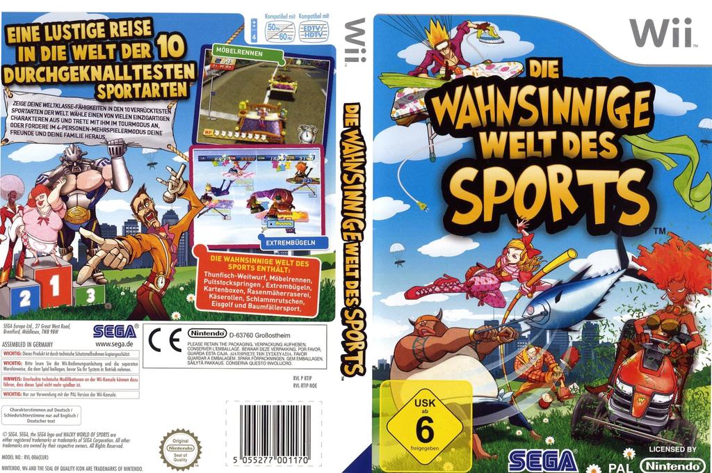 Die wahnsinnige Welt des Sports Wii coverfullHQ (RTIP8P)