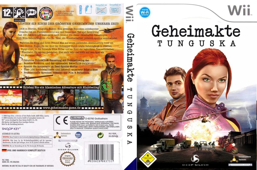 Geheimakte: Tunguska Wii coverfullHQ (RTUPKM)