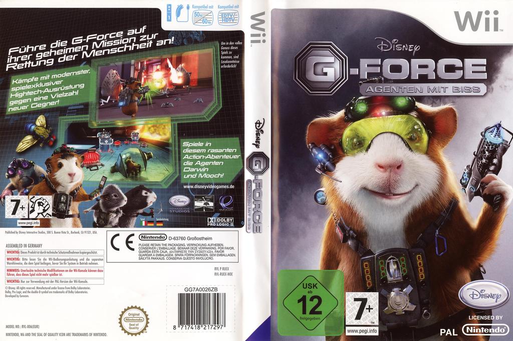G-Force: Agenten mit Biss Wii coverfullHQ (RUEX4Q)