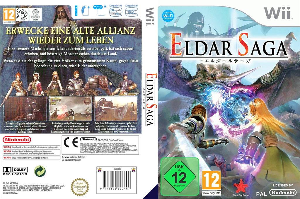 Eldar Saga Wii coverfullHQ (RVKP99)