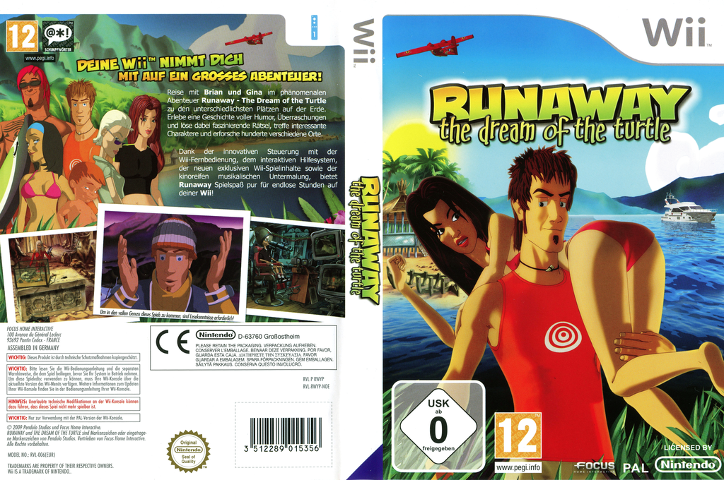 Runaway: The Dream of the Turtle Wii coverfullHQ (RWYPHH)