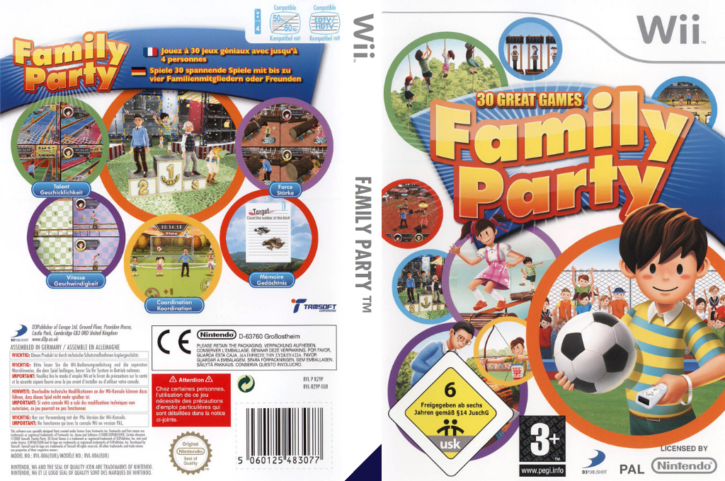 Family Party: 30 Great Games Wii coverfullHQ (RZ9PG9)