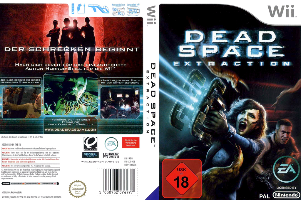 Dead Space: Extraction Wii coverfullHQ (RZJD69)