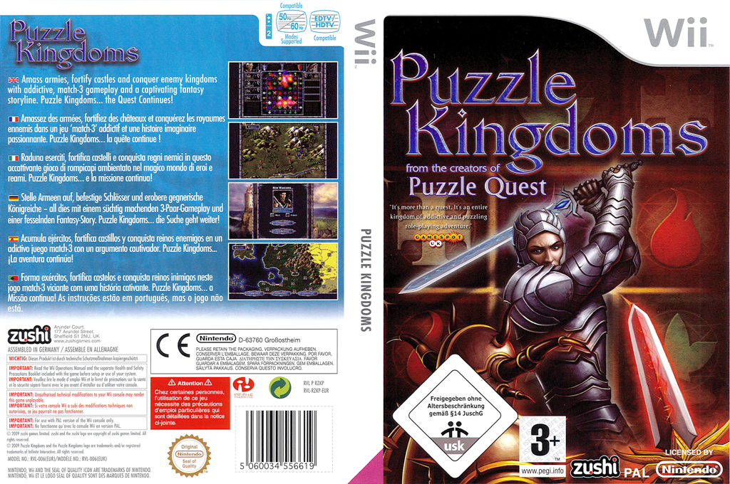 Puzzle Kingdoms Wii coverfullHQ (RZKP7J)