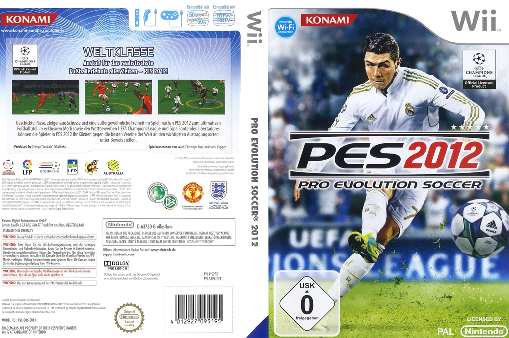 Pro Evolution Soccer 2012 Array coverfullHQ (S2PXA4)