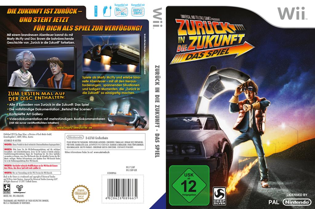 Zurück in die Zukunft - Das Spiel Wii coverfullHQ (S5BPKM)
