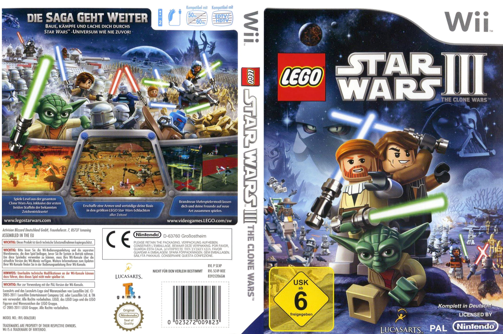 LEGO Star Wars III: The Clone Wars Array coverfullHQ (SC4P64)